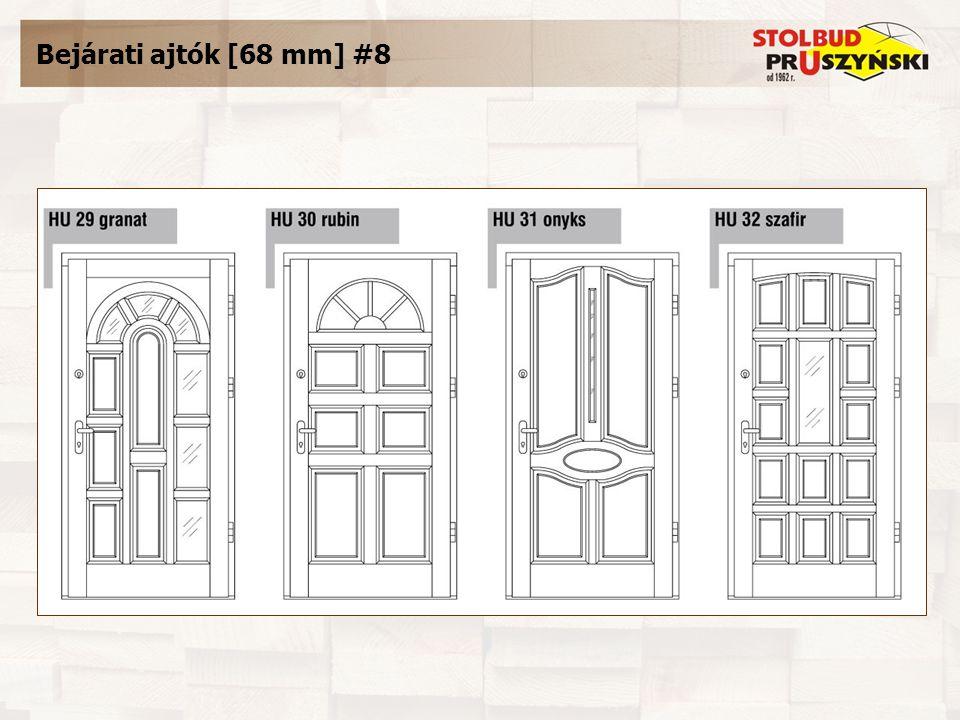 Bejárati ajtók [68 mm] #8